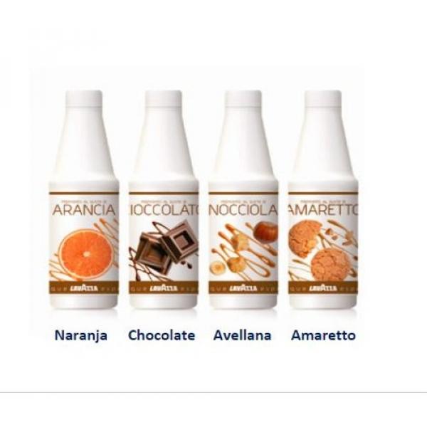 SIROPES (Chocolate, Avellana, Amaretto, Naranja)