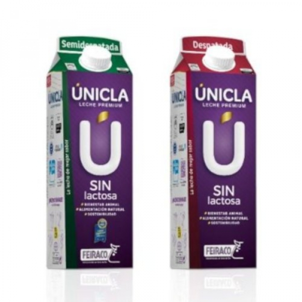 Unicla sin lactosa (Semidesnatada, Desnatada)